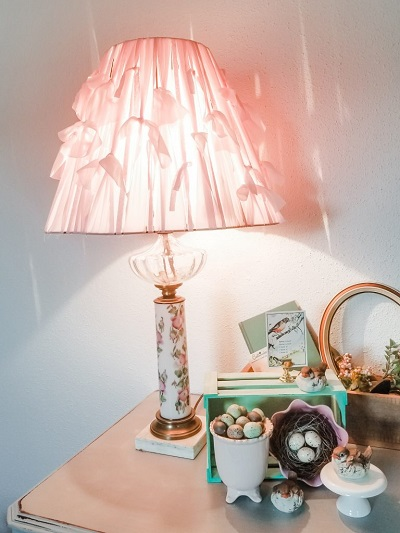 Easy DIY Lampshade Makeover