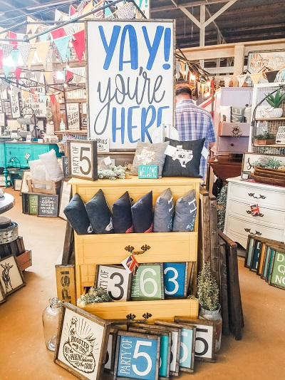 Visit Vintage Market Days to shop this curated event of antiques, cute clothing and jewelry boutiques, gift and household goods vendors!