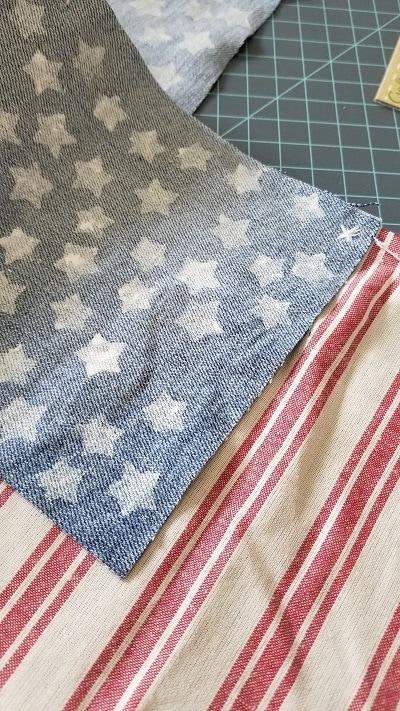 Patriotic Farmhouse Flag