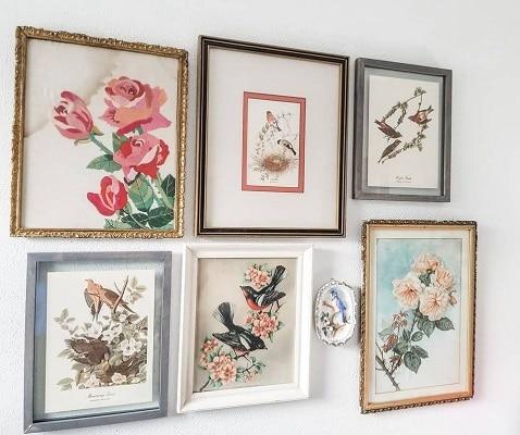 DIY Vintage Gallery Wall