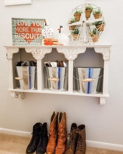 A Creative Idea For Shoe Storage