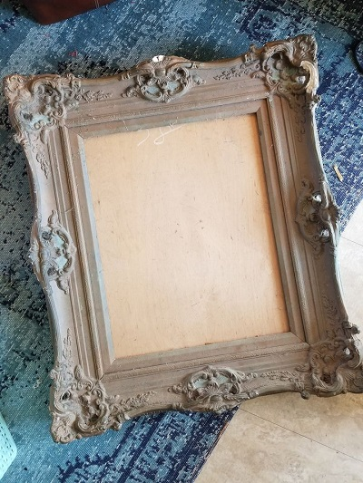 Repurpose picture frame to use in your home