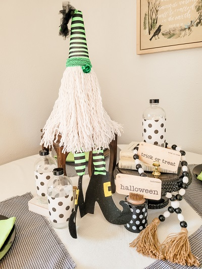 Make An Adorable No Sew Halloween Gnome
