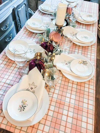 Thrifty and Thankful Table